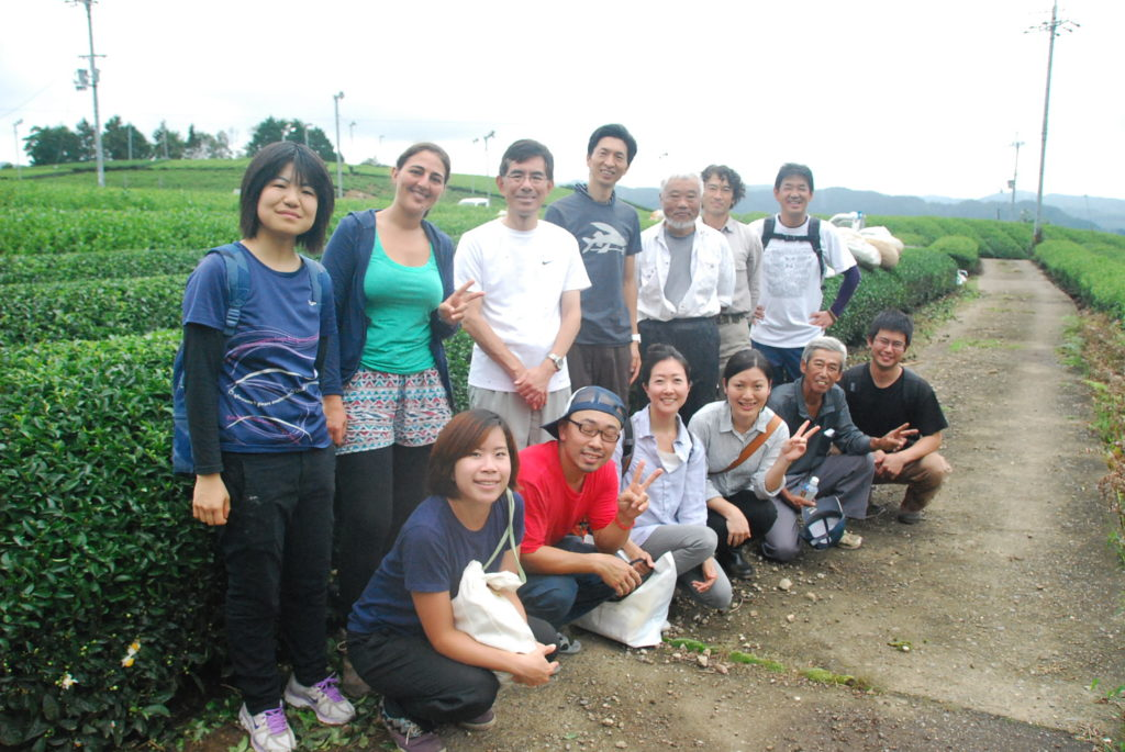 茶源郷和束ほっこりサークルお茶刈り体験交流イベントのレポートです。美味しいお茶を参加者とともに収穫体験。